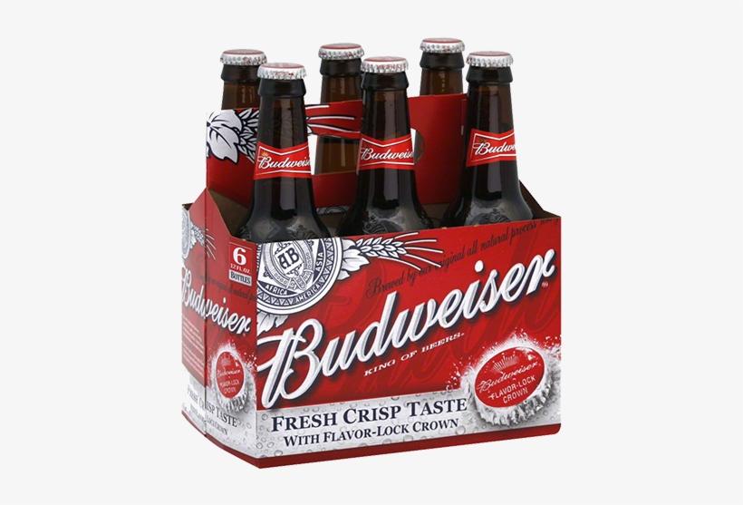 Budweiser Beer - 12 Pack, 12 Fl Oz Bottles, transparent png #1527924
