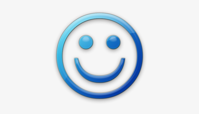 Appropriate Price For Service - Blue Smiley Face Icon, transparent png #1529223