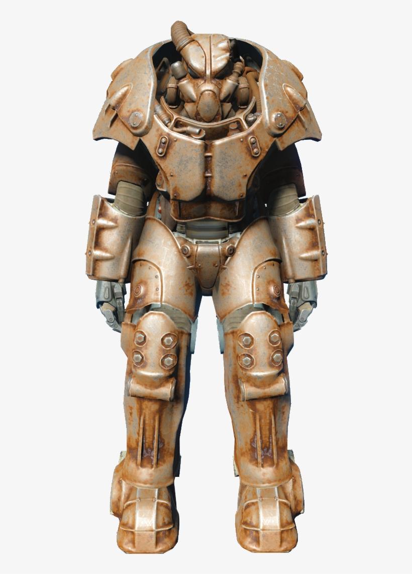 Fallout 4 Pip Boy - Fallout Power Armor T45, transparent png #1529620
