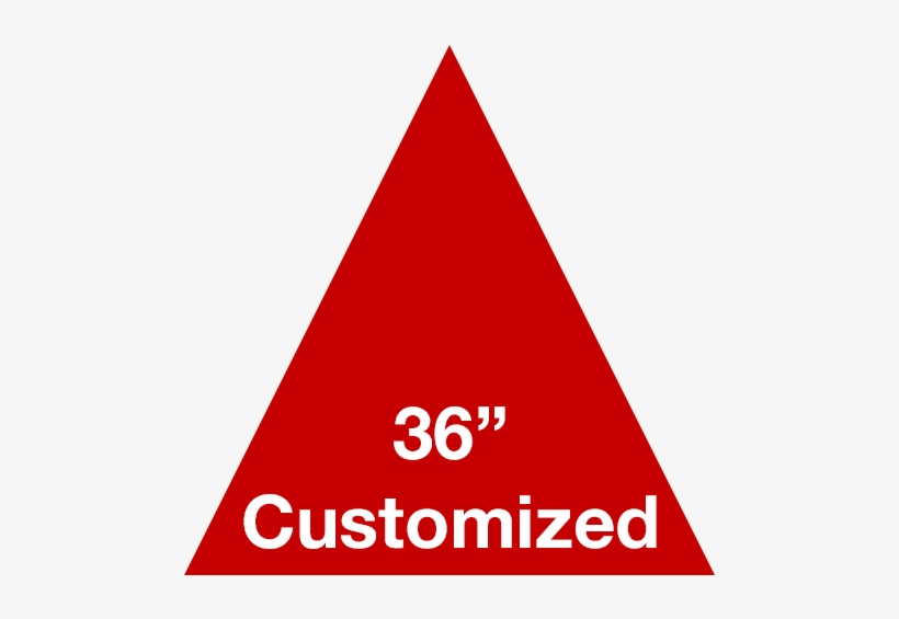 Red Triangle Custom Warehouse Floor Tape Marking - Wells Fargo Customer Service, transparent png #1535123