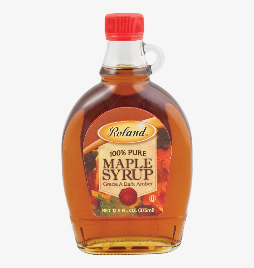 Pancake Syrup Png - Roland Grade A Pure Maple Syrup 1 Gal (case Of 4), transparent png #1537517