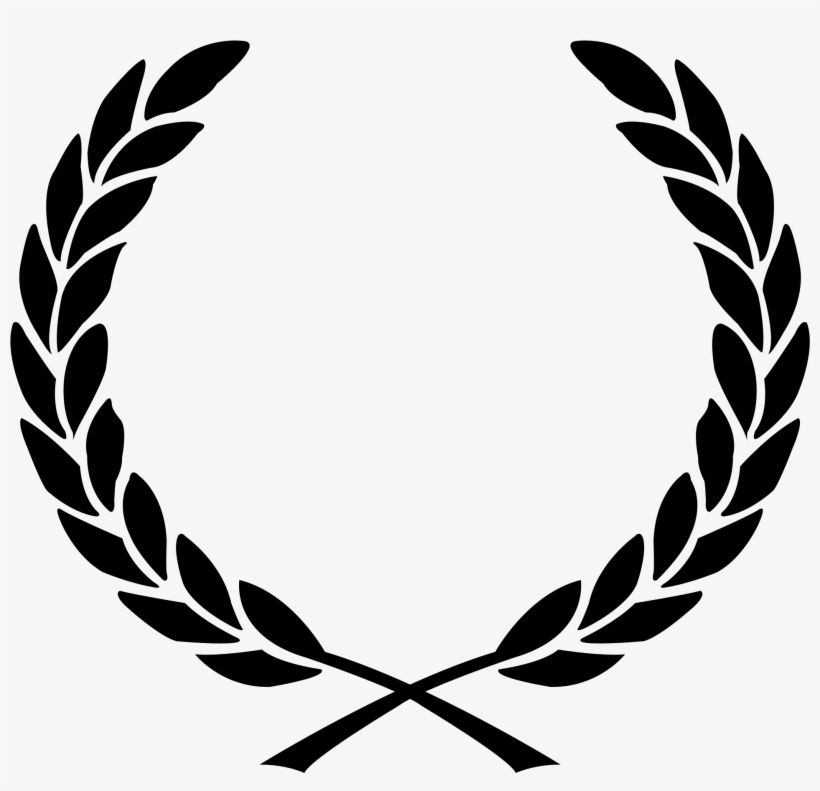 Laurel Leaves Png Graphic Library - Laurel Wreath Vector, transparent png #1538687
