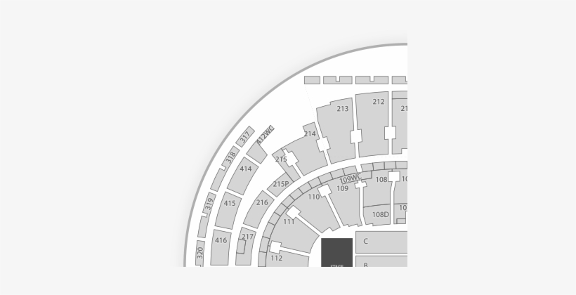 New York, November 11/18/2018 At Madison Square Garden - Spectrum Center Seating Chart, transparent png #1540335