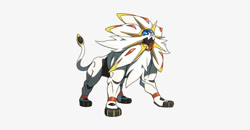 Pokemon Solgaleo Sun Pokemon Free Transparent Png