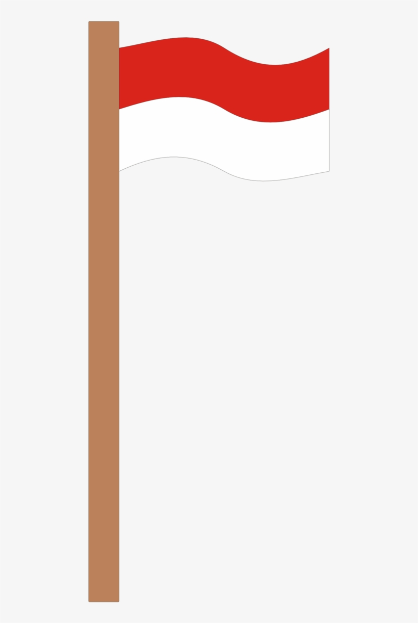 I Love Indonesia Tiang Bendera Indonesia Vector Free Transparent