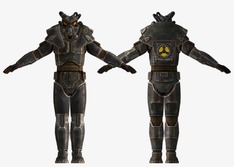 Fallout New Vegas Dlc Crack - Fallout 3 Power Armor, transparent png #1541883