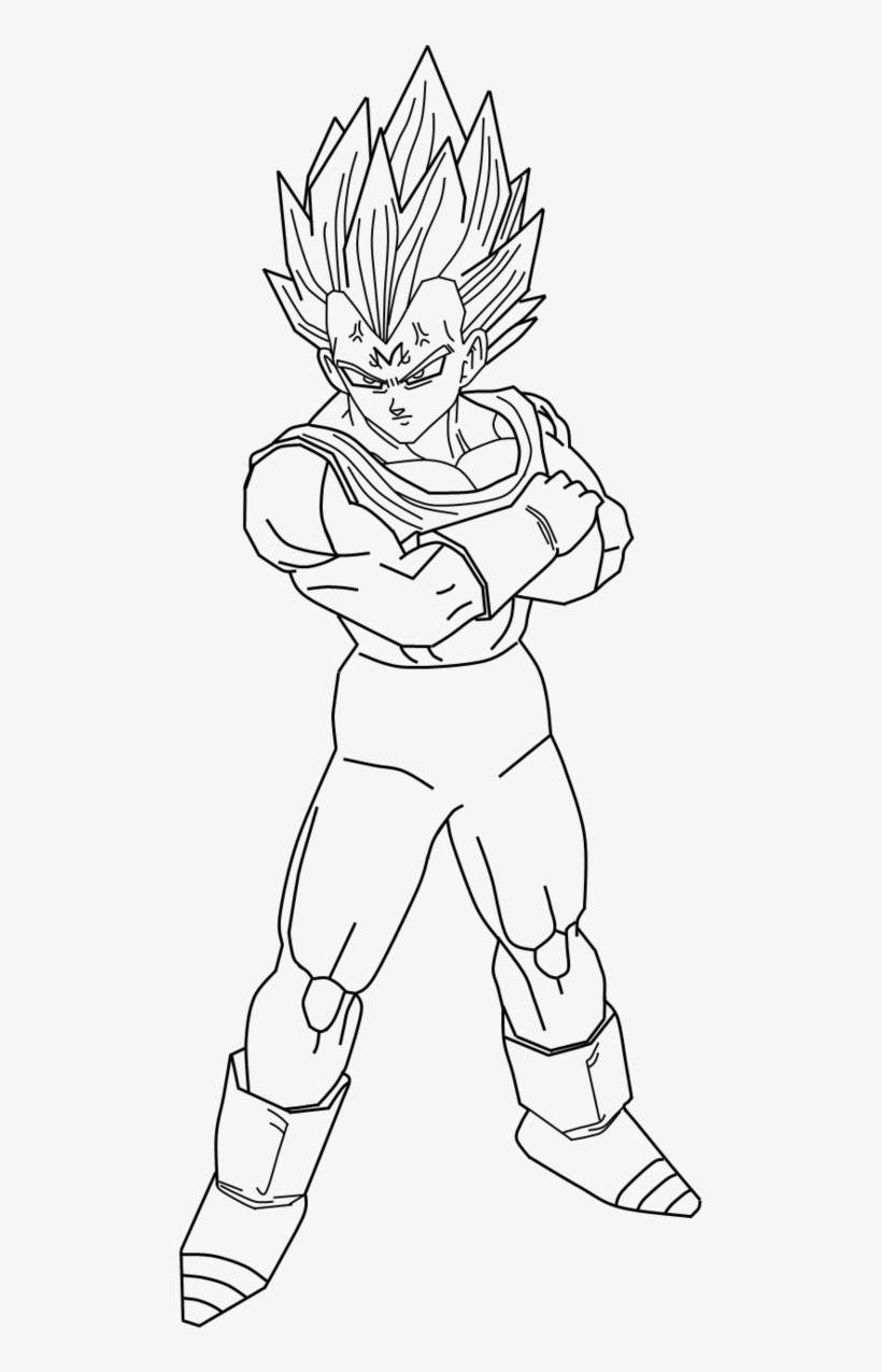 Dragon Ball Z Drawing Vegeta At Getdrawings Vegeta Drawing Full