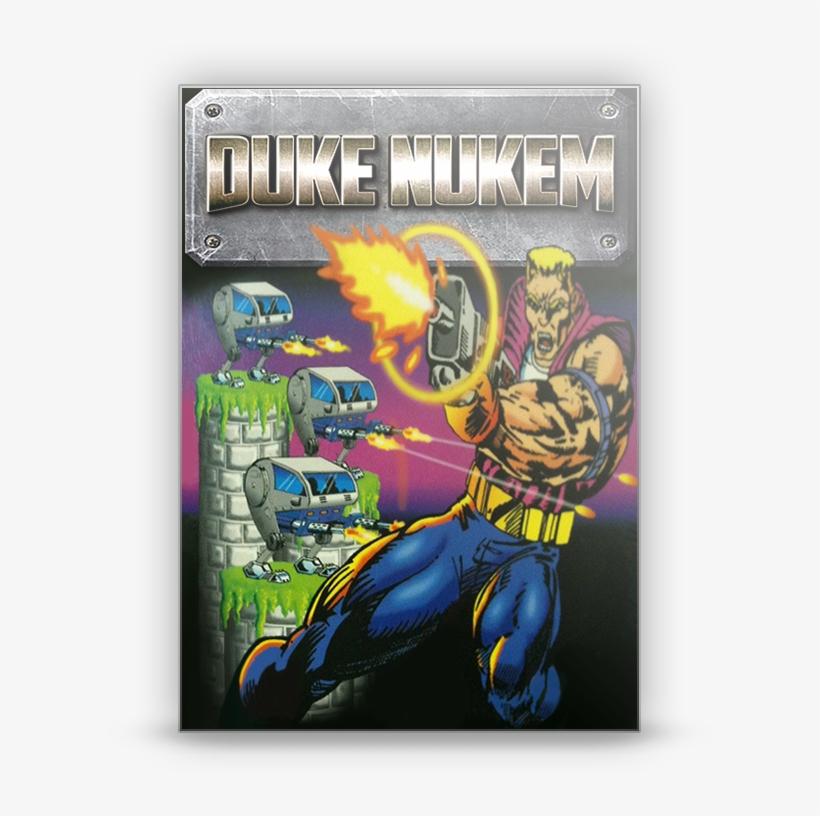 Duke Nukem - Duke Nukem 1 Box Art, transparent png #1542603