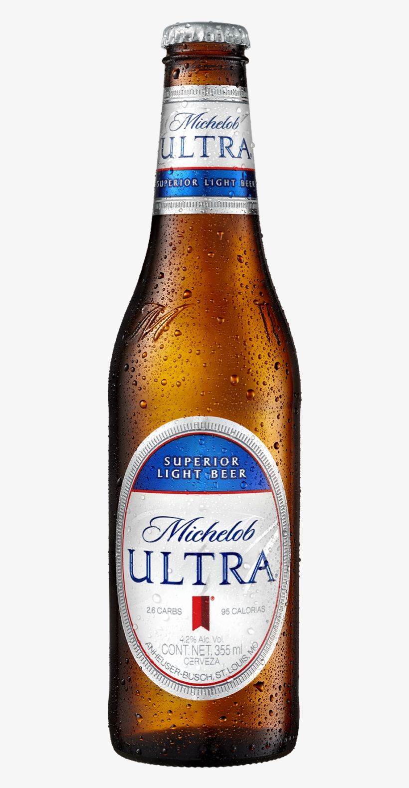Con Sólo 95 Calorías Y - Michelob Ultra Lime Cactus Light Beer, 12 Pack, 12, transparent png #1543852