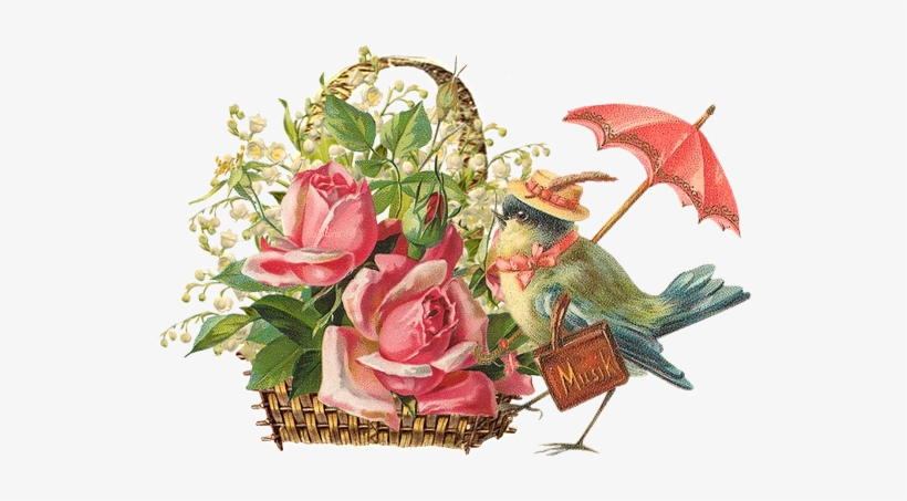 Flores Vintage Png Vintage Flowers Clip Art Free