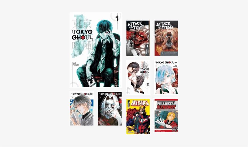 Tokyo Ghoul, Vol  1 Ebook - Free Transparent PNG Download