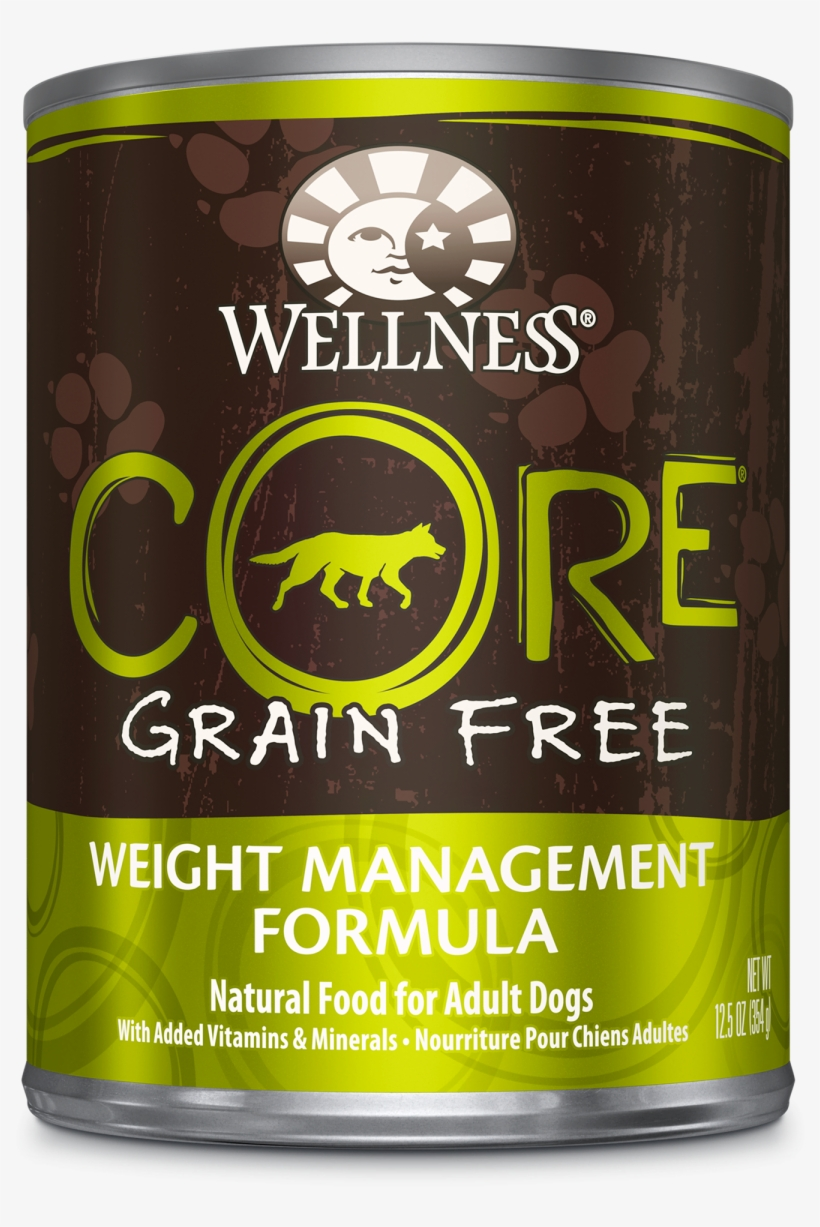 Wellness Core Natural Grain Free Wet Canned Dog Food, transparent png #1546880