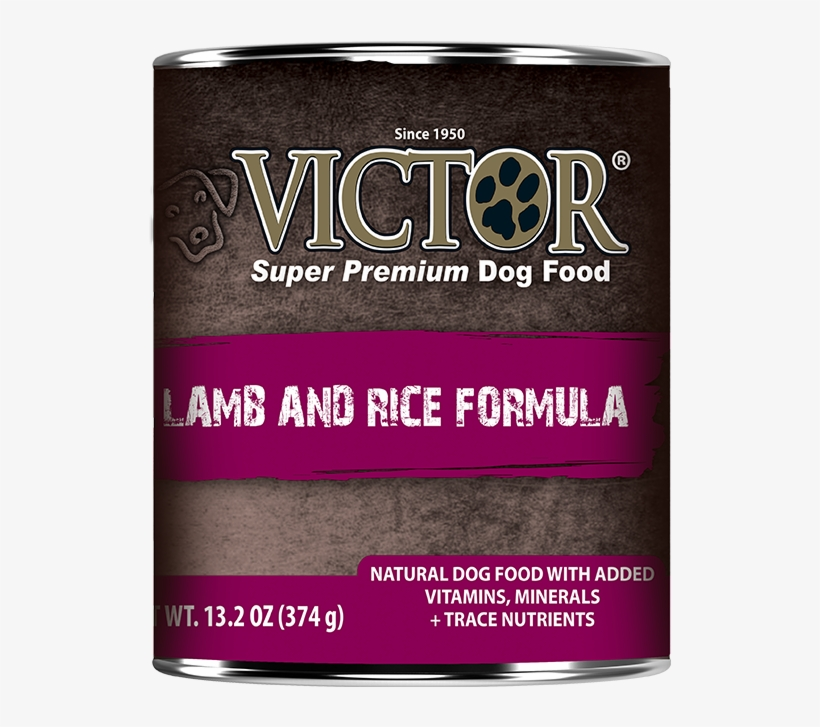 Lamb And Rice Formula Canned Dog Food - Victor Lamb & Rice Canned Dog Food 13.2oz 12 Case, transparent png #1547206