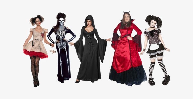 Halloween Costume Png Transparent Image - Adult Women Gothic Rag Doll Halloween Costume, transparent png #1547320