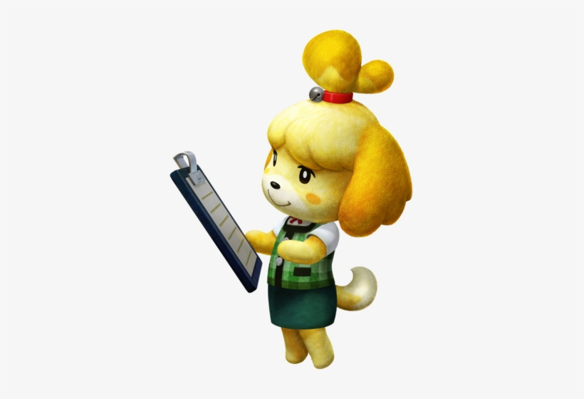 Isabelle Animal Crossing Png Animal Crossing New Leaf Canela