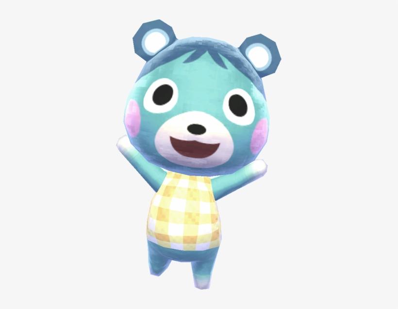 Animal Crossing New Leaf Bluebear, transparent png #1547788