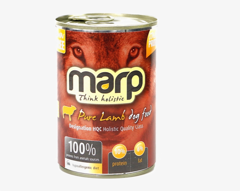 Pure Lamb Canned Food For Dogs - Marp Holistic Pure Chicken Can Food 6 X 400 G, transparent png #1547830