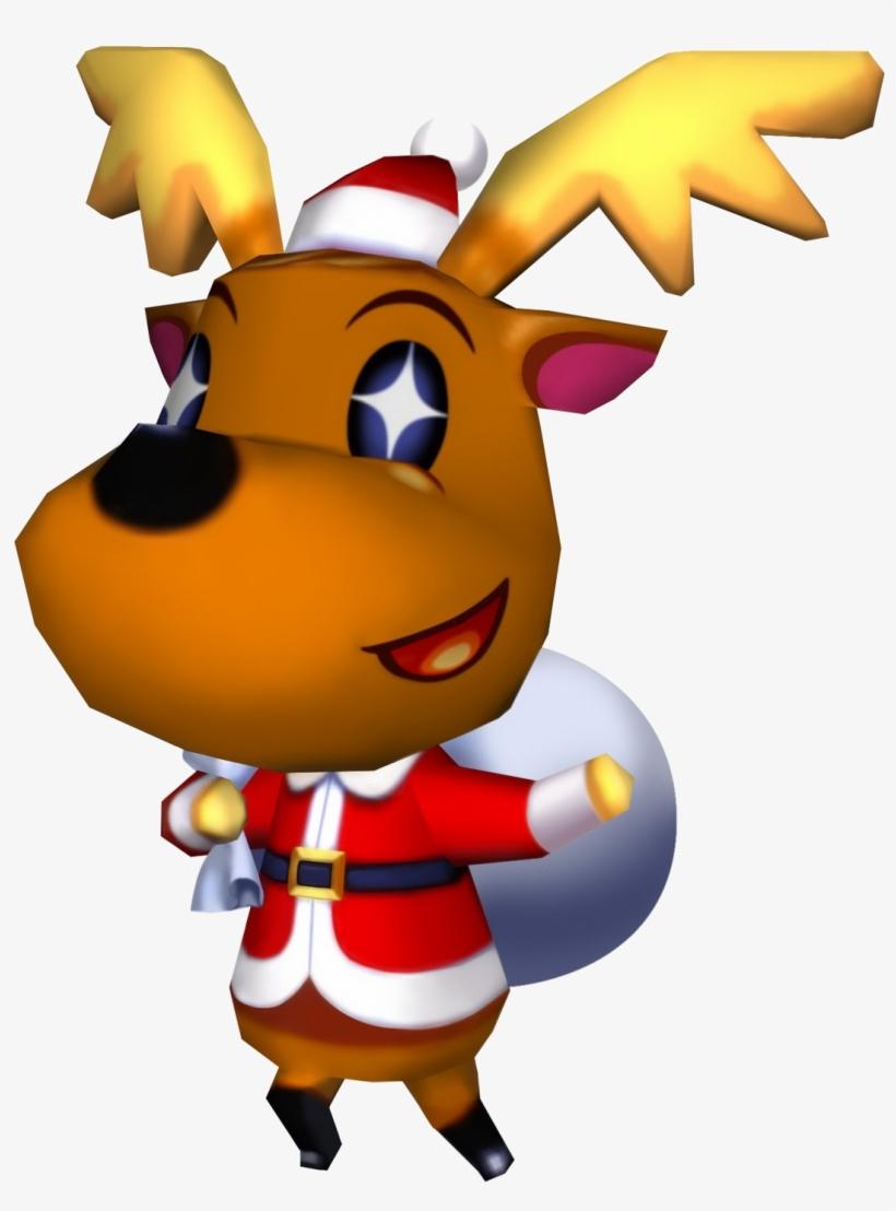 Image Cf Jingle Animal Crossing Wiki - Animal Crossing Christmas Character, transparent png #1547916