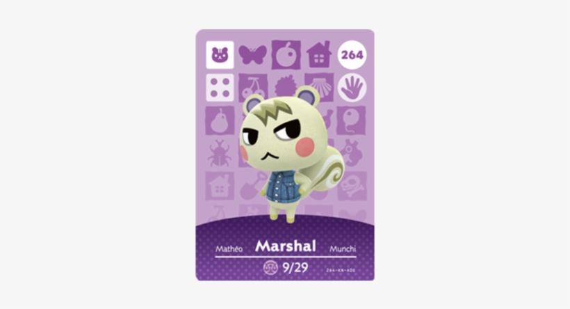 Series - Animal Crossing Amiibo Card Marshal, transparent png #1548037