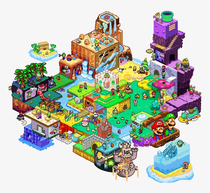 Iso Collab 5 Mario Luigi Superstar Saga Bowser S Minions