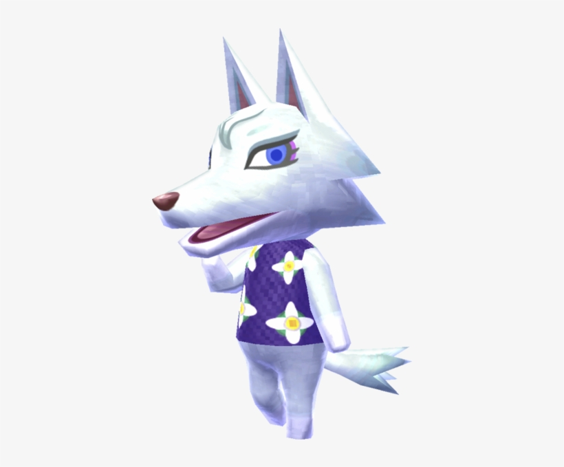 Photo Gallery Of - Animal Crossing New Leaf Wolf, transparent png #1548721