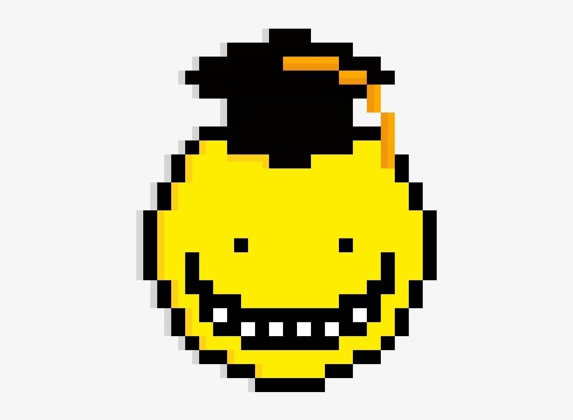 Koro Sensei Pixel Art Koro Sensei Free Transparent Png