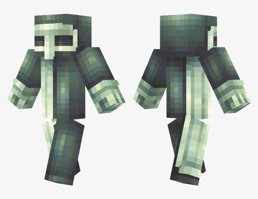 Plague Doctor - Plague Doctor Minecraft Skin, transparent png #1549103