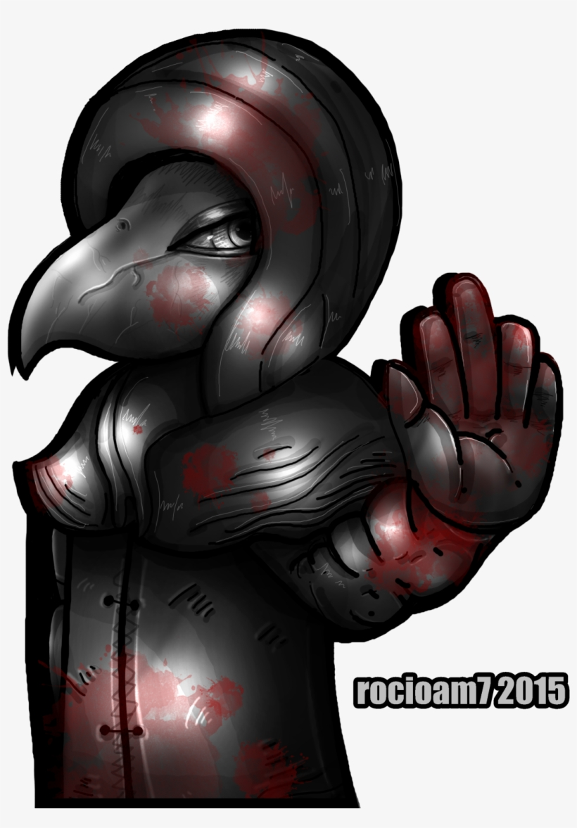 Scp 049 Plague Doctor Video Game Scp Foundation Free Transparent Png Download Pngkey