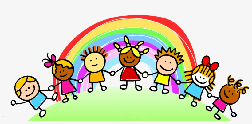 See Clipart Kid's - Kids Rainbow Clipart, transparent png #1550276