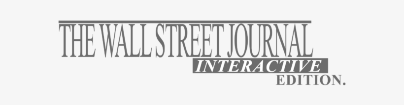The Wall Street Journal Ie Logo Png Transparent & Svg - Wall Street Journal, transparent png #1550872