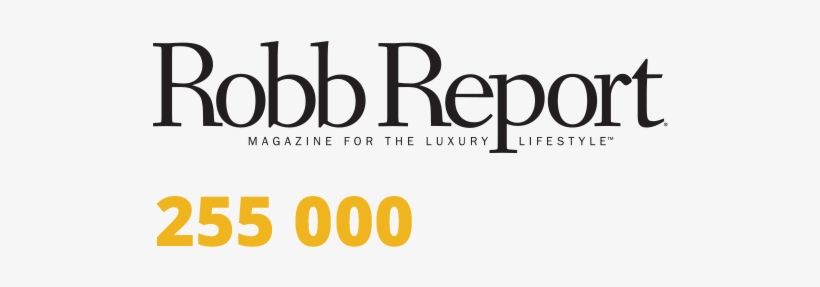 Because Our Buyers Come From All Over The World, You'll - Robb Report Singapore Logo, transparent png #1551456