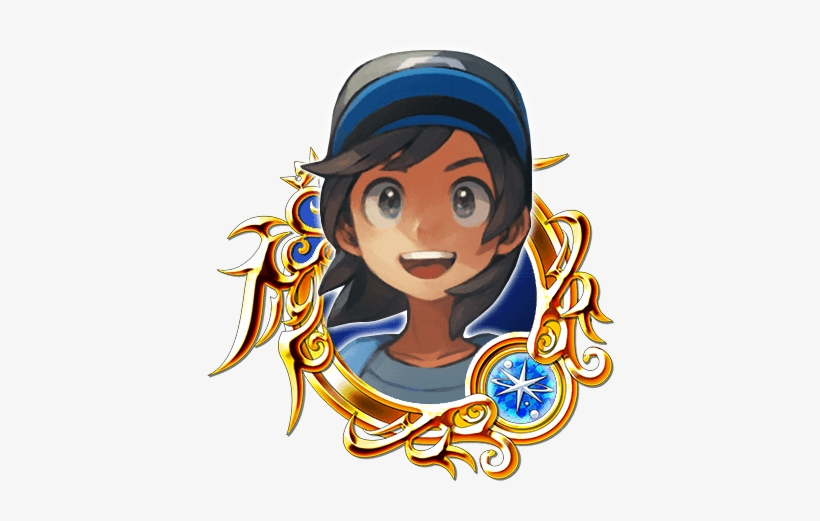 Sun Ex - Kingdom Hearts Stained Glass Ex, transparent png #1552578