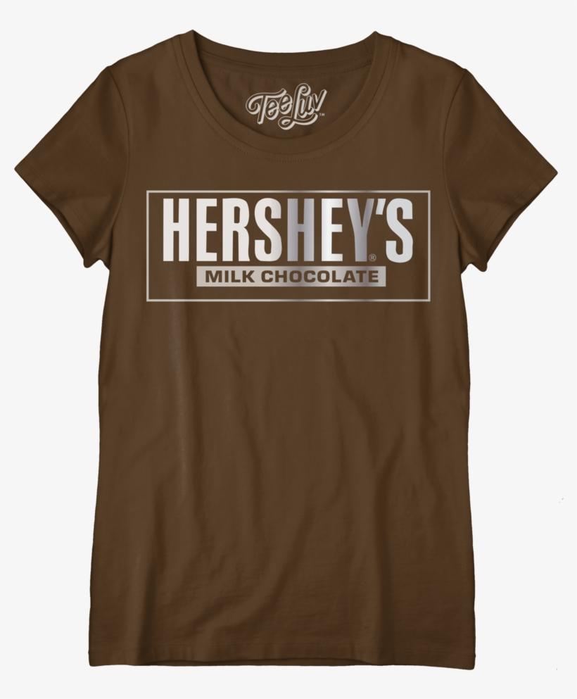 Hershey's Logo Women's Crew Tee - I M A Pepper T Shirt, transparent png #1553040