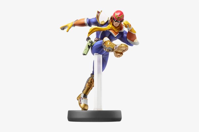 Captain Falcon - Captain Falcon Amiibo Super Smash Bros, transparent png #1554224