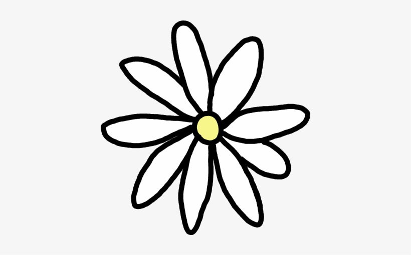 Flores Tumblr Png Daisy Stickers Free Transparent Png Download