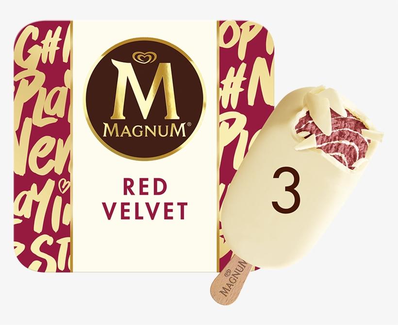 Magnum Ice Cream White, transparent png #1556309