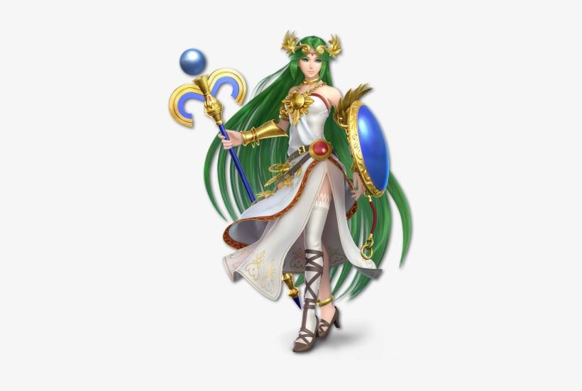 Preview Art - Super Smash Bros Ultimate Palutena, transparent png #1557004