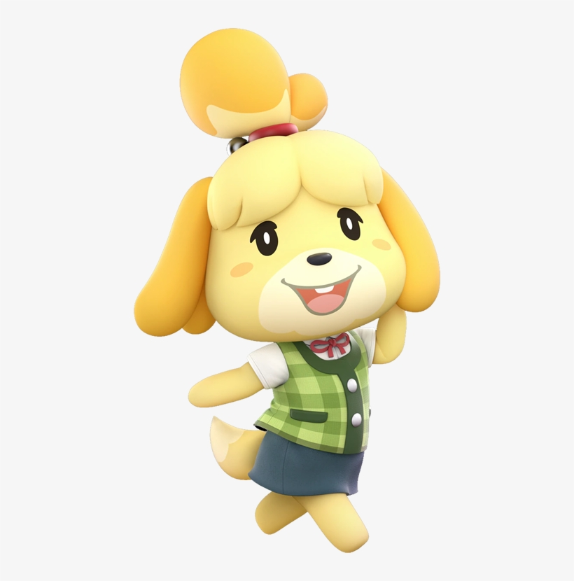 As It's For A Character Included In The Roster Ie - Super Smash Bros Ultimate Isabelle, transparent png #1557427