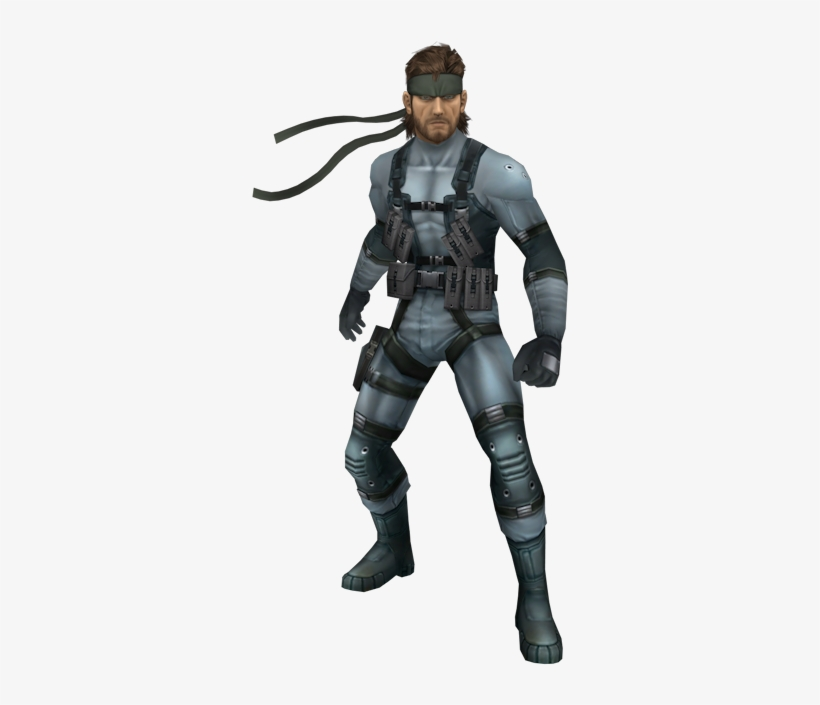 Download Zip Archive - Metal Gear Solid Snake, transparent png #1557750