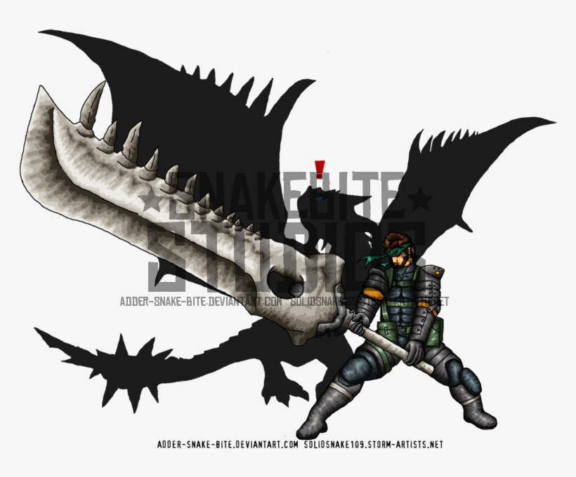 Rathalos Gear Solid - Metal Gear Solid, transparent png #1558292