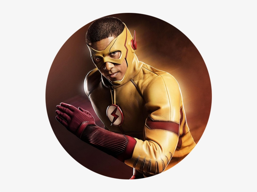 Kid Flash Costume Revealed The Cw Unveils Wally West's - Keiynan Lonsdale Kid Flash, transparent png #1559655