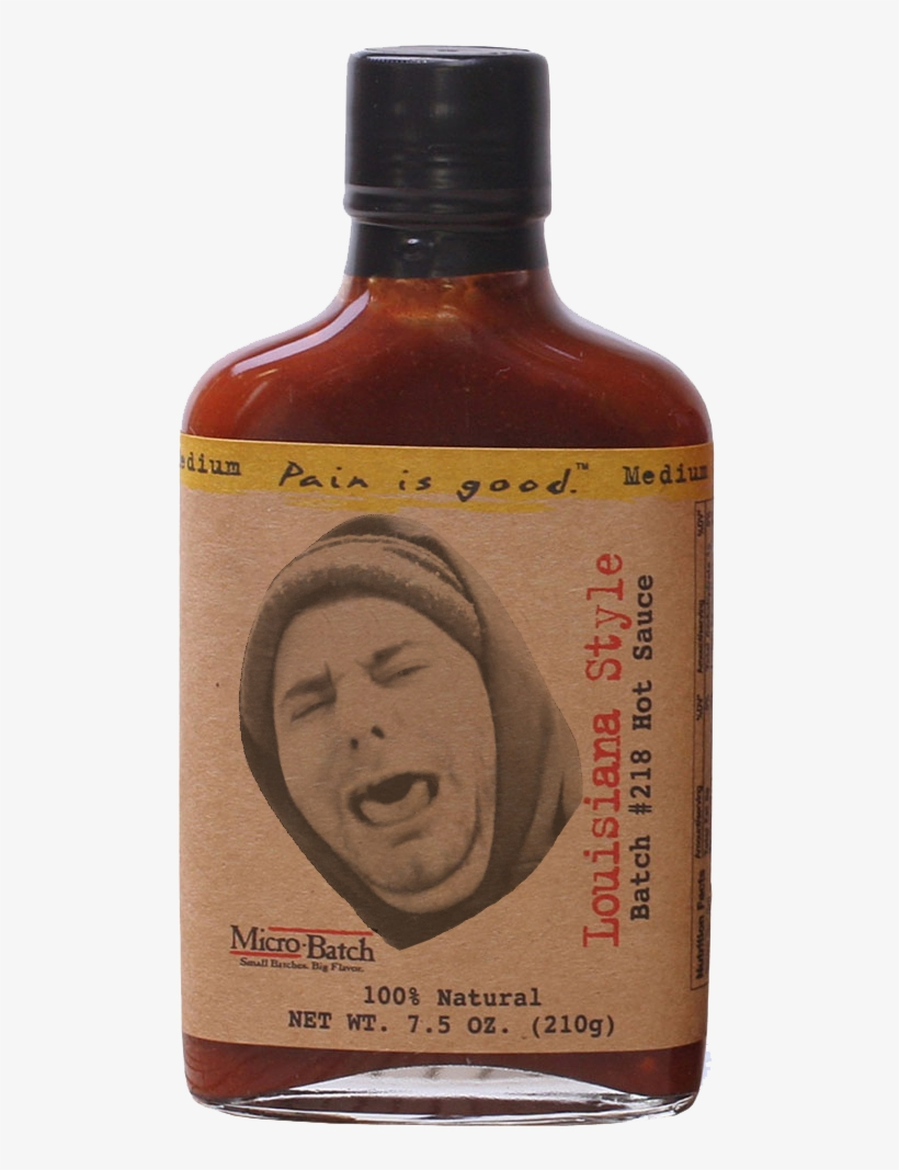 [ethan's Face]if Only This Sauce Was On First We Feast - Hot Ones Sauce Bottle, transparent png #1562126