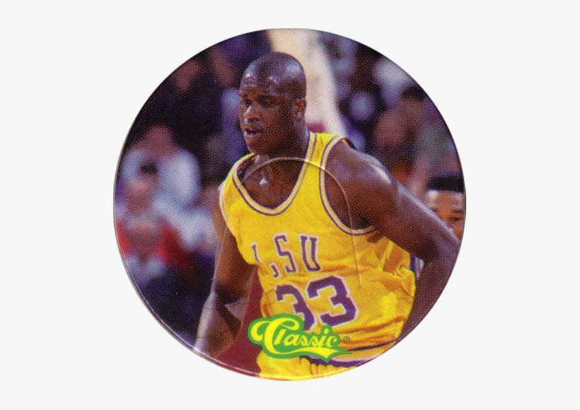 Classic > Tonx 04 Center Shaquille O'neal - Shaquille O Neal 1992 Draft Card, transparent png #1562760