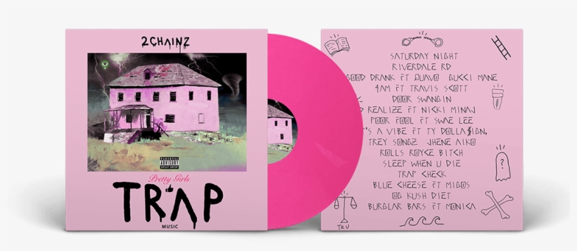 The New Album From 2 Chainz, Pretty Girls Like Trap - Pretty Girls Like Trap Music Vinyl, transparent png #1563482