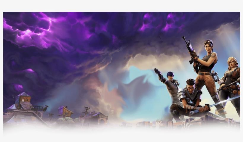 fortnite battle royale banner epic games fortnite deluxe edition pc download transparent png - epic fortnite download