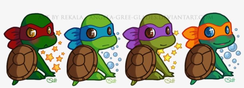Vector Library Bowling Drawing Ninja Turtle - Cute Baby ...   Baby Ninja Turtles Drawings