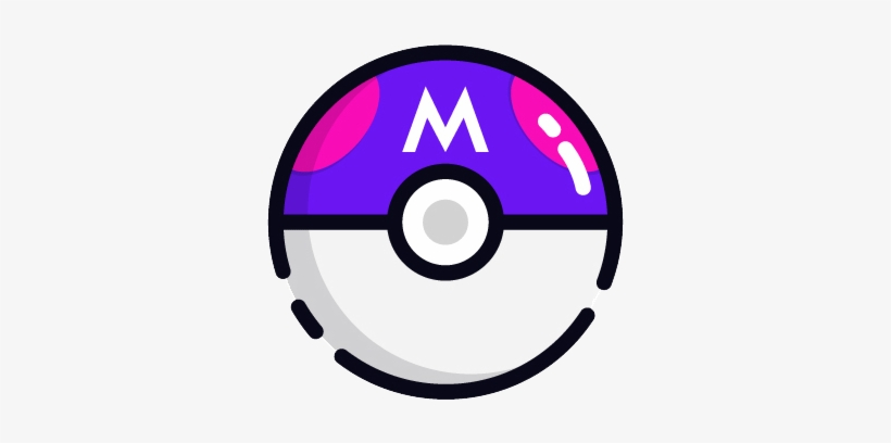Master Ball - Master Ball Pokemon Icon, transparent png #1564817