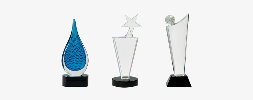 Glass Awards - Blank Glass Trophy Png - Free Transparent PNG