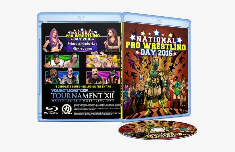 National Pro Wrestling Day 2016 Blu-ray And Dvd - Chikara Pro Wrestling Dvds, transparent png #1565687