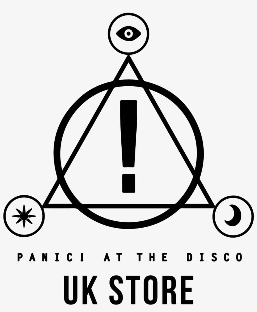 Image Result For Panic At The Disco Logo - Panic At The Disco Triangle Logo, transparent png #1565986
